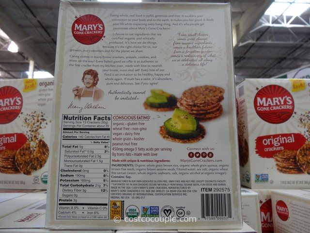 Marys Organic Gone Crackers Costco 3