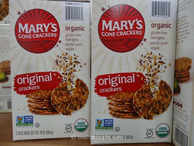 Marys Organic Gone Crackers Costco 4