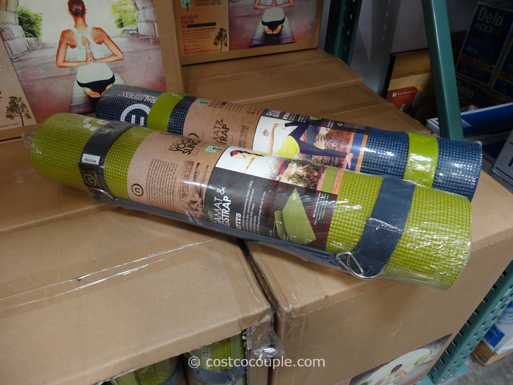 Natural Fitness Yoga Mat and Sling Strap Costco 1