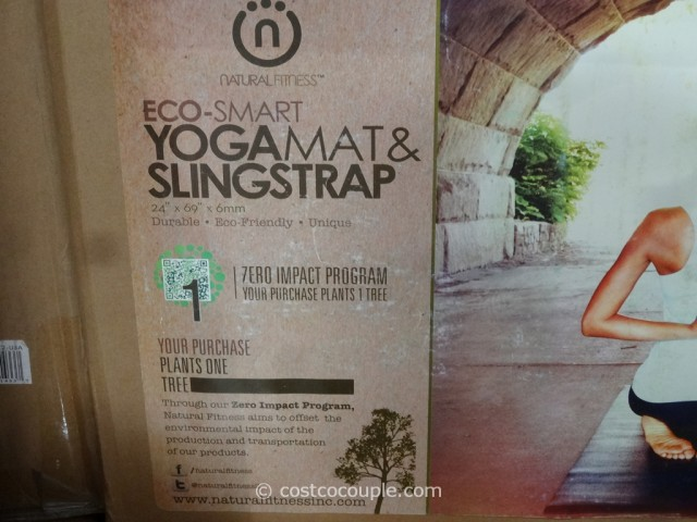 Natural Fitness Yoga Mat and Sling Strap Costco 2