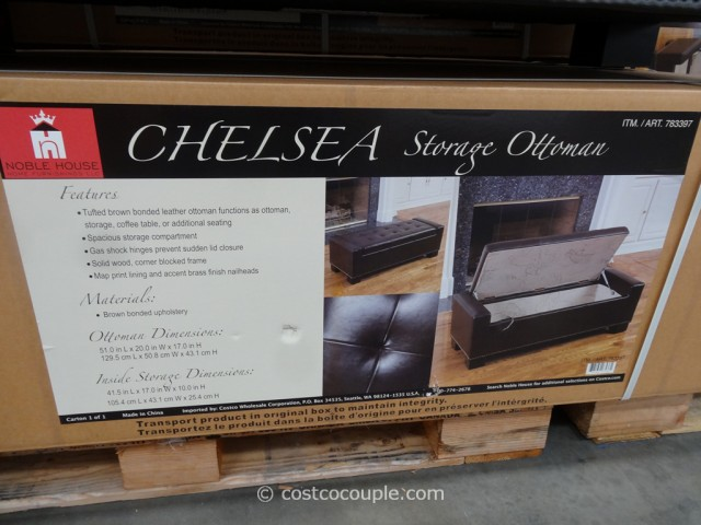 Noble House Chelsea Storage Ottoman Costco 2