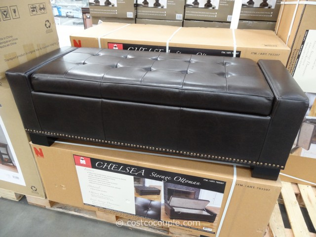 Noble House Chelsea Storage Ottoman Costco 5