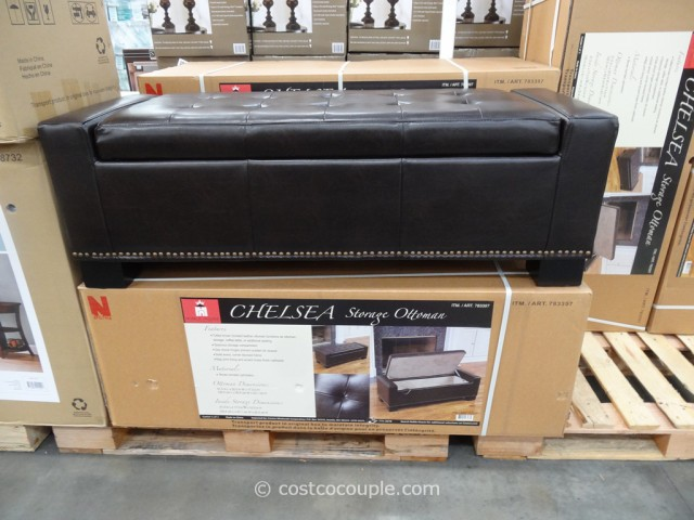 Noble House Chelsea Storage Ottoman Costco 6