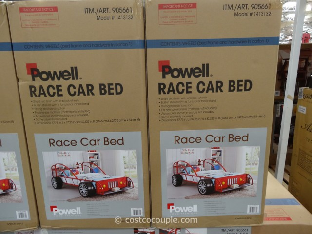 Powell Race Car Bed Costco 3