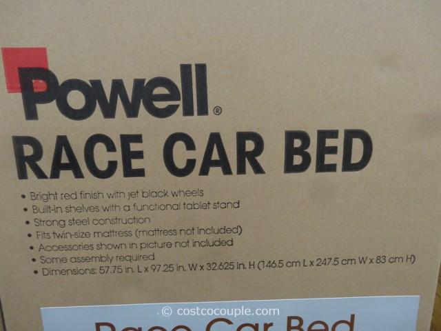 Powell Race Car Bed Costco 4