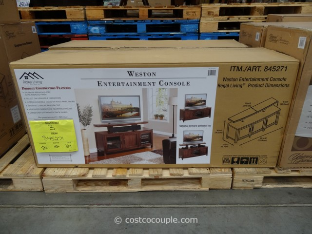 Regal Living Weston TV Console Costco 3