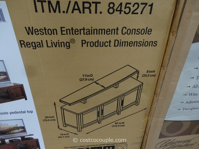 Regal Living Weston TV Console Costco 4