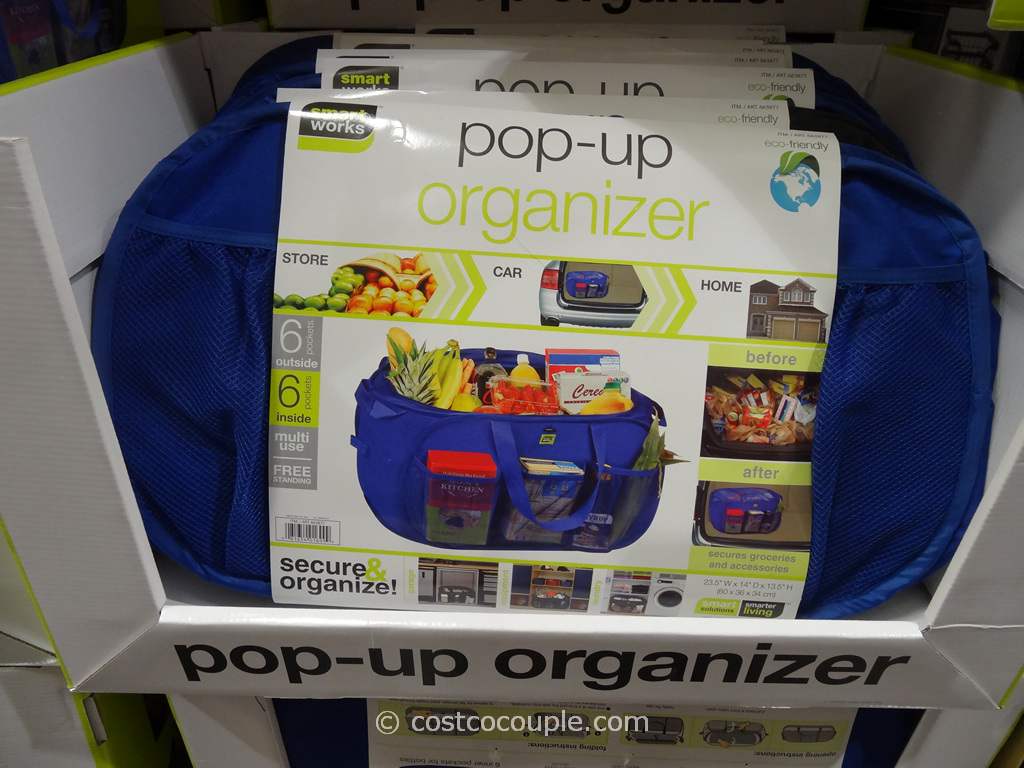 Smart Works Pop-Up Organizer Set Costco 2