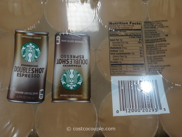 Starbucks Doubleshot Espresso And Cream Costco 2