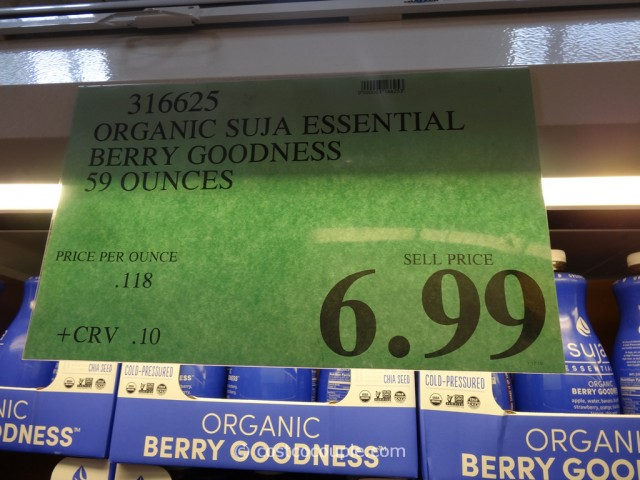 Suja Organic Berry Goodness Costco 1