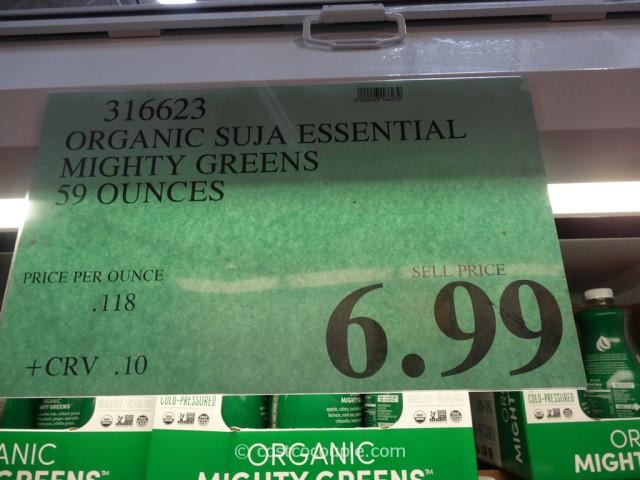 Suja Organic Mighty Greens Costco 1