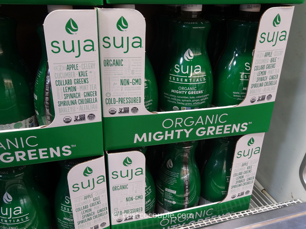 Suja Organic Mighty Greens Costco 2