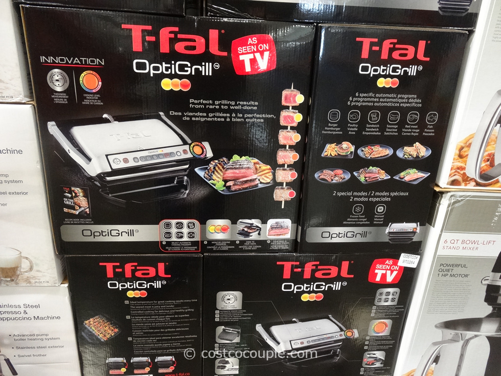 T-Fal OptiGrill Costco 1