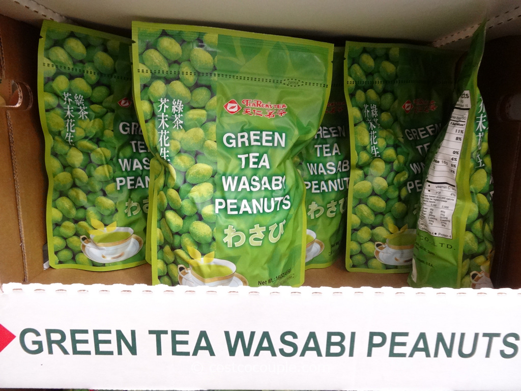 TenRen Green Tea Wasabi Peanuts Costco 1