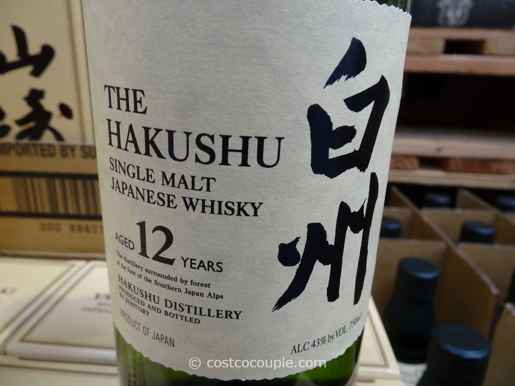 The Hakushu Single Malt Japanese Whisky Costco 2