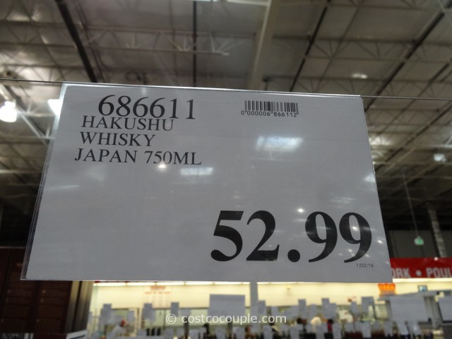 The Hakushu Single Malt Japanese Whisky Costco 4