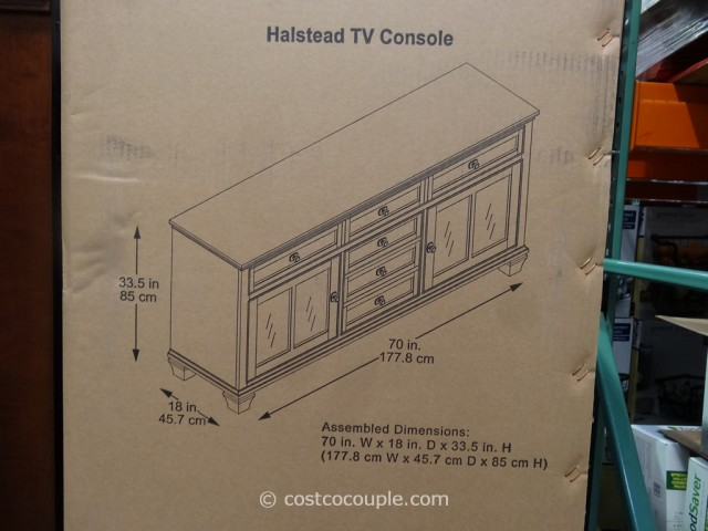 Universal Furniture Halstead TV Console Costco 3