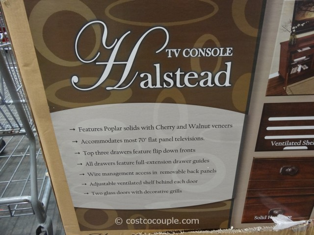 Universal Furniture Halstead TV Console Costco 4