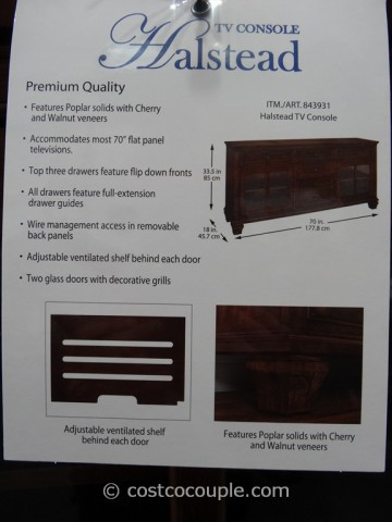 Universal Furniture Halstead TV Console Costco 5