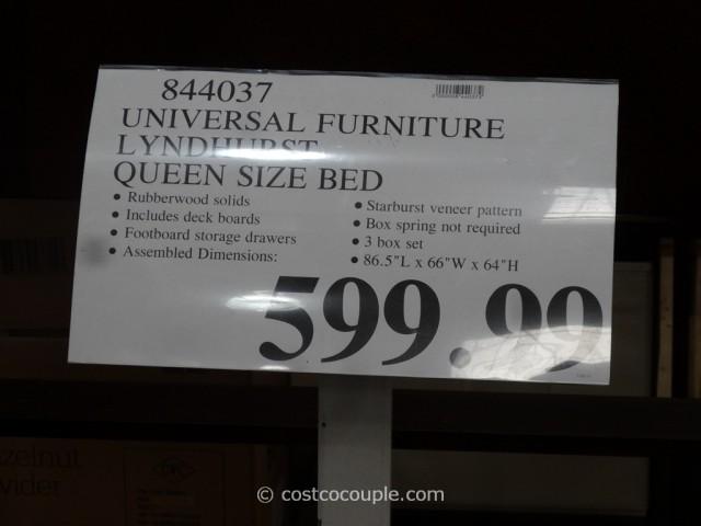 Universal Lyndhurst Bed Costco 2