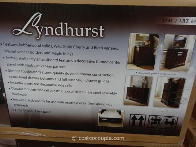 Universal Lyndhurst Bed Costco 4