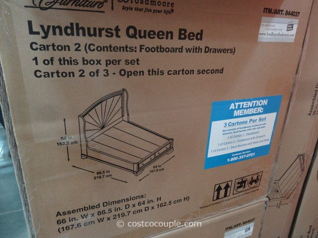Universal Lyndhurst Bed Costco 6