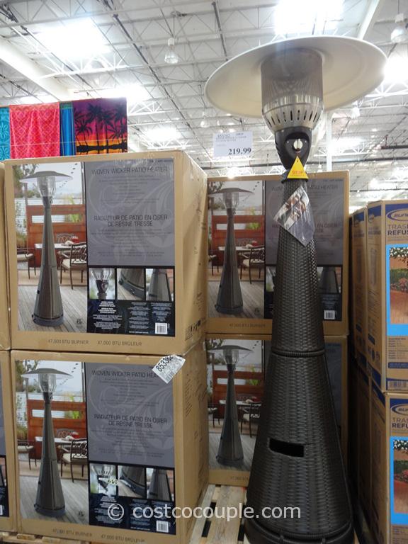Woven Wicker Patio Heater Costco 5