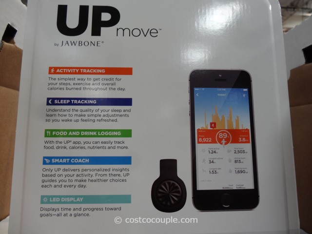 Jawbone Up Move Activity Tracker Costco 4