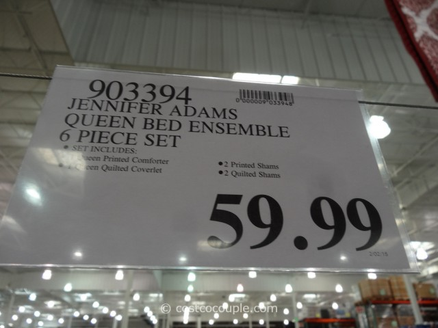 Jennifer Adams Queen Bed Ensemble Set Costco 1