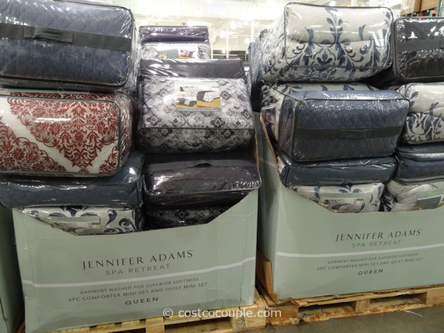 Jennifer Adams Queen Bed Ensemble Set Costco 2