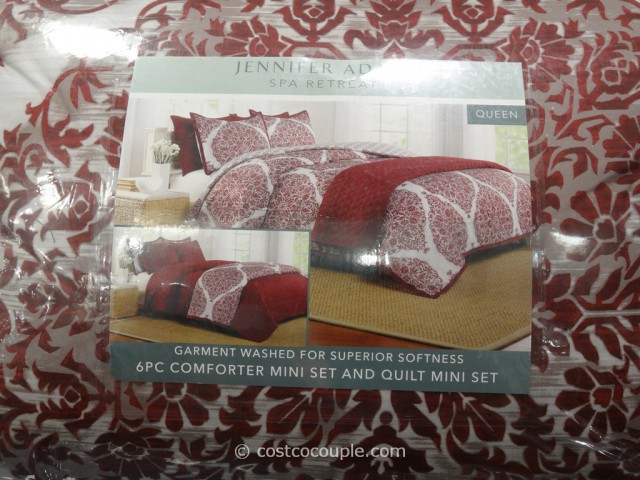 Jennifer Adams Queen Bed Ensemble Set Costco 5