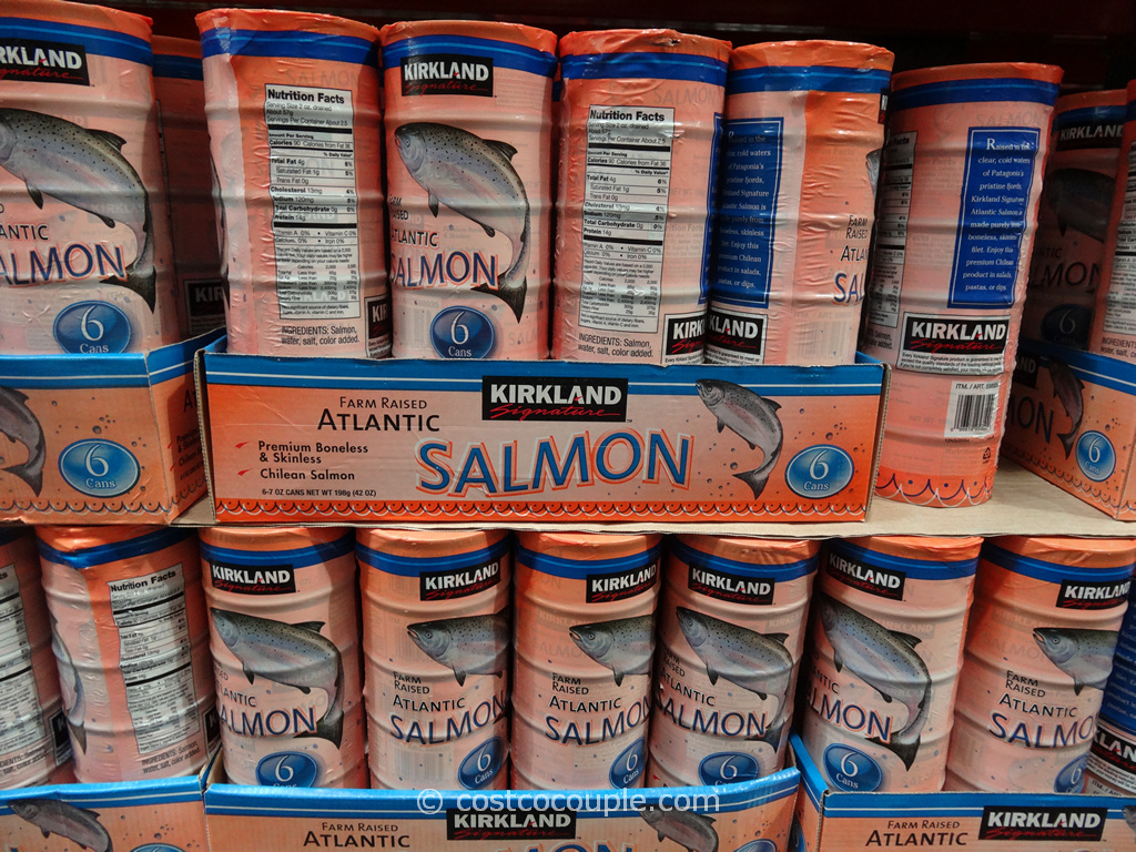 Kirkland Signature Farmed Atlantic Salmon Costco 3