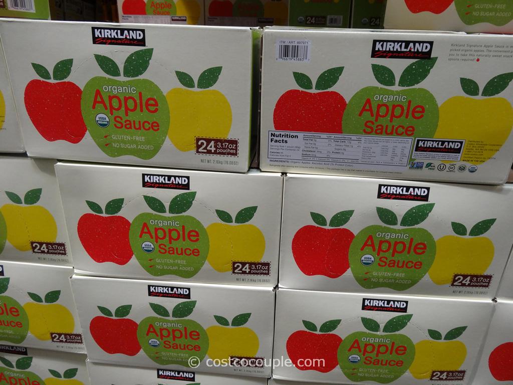 Kirkland Signature Organic Apple Sauce Costco 5