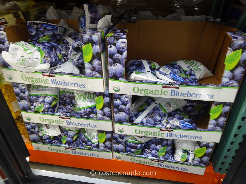 Kirkland Signature Organic Blueberries Costco 2