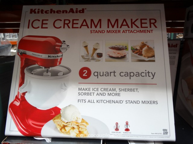 KitchenAid Ice-Cream Attachment Costco 2