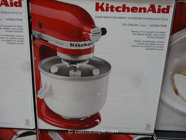 KitchenAid Ice-Cream Attachment Costco 3