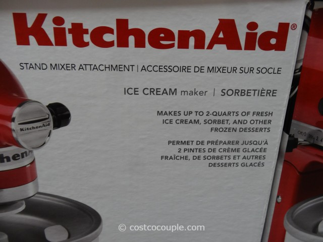 KitchenAid Ice-Cream Attachment Costco 4