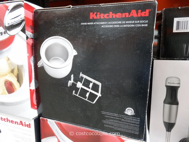 KitchenAid Ice-Cream Attachment Costco 5