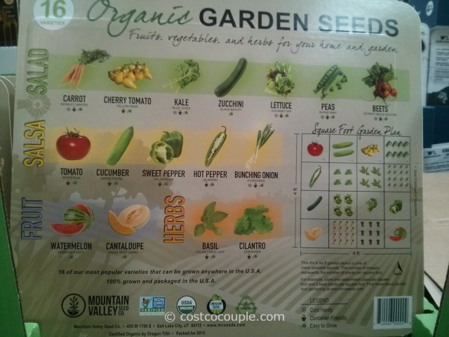Mountain Valley Organic Garden Seeds Costco 2