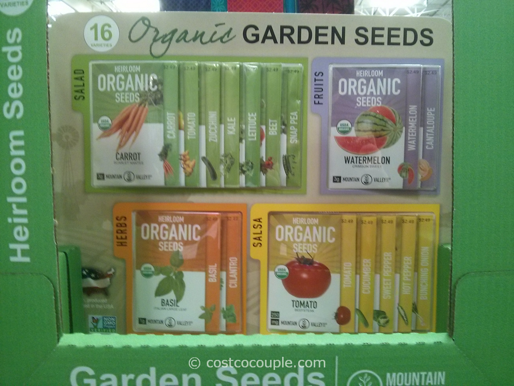 Mountain Valley Organic Garden Seeds Costco 3