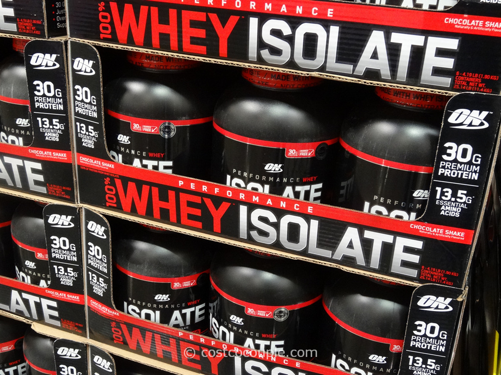 Optimum Nutrition Whey Isolate Costco 2