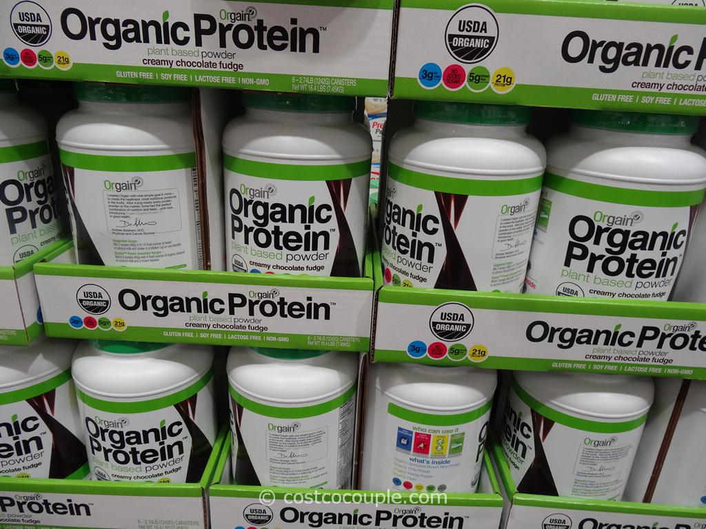 Orgain Organic Protein Powder Costco 2