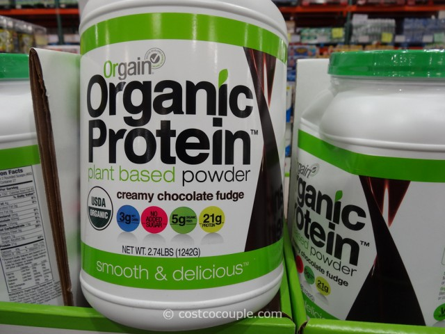 Orgain Organic Protein Powder Costco 4
