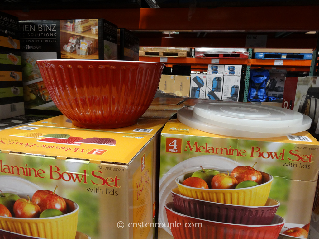 Pandex Fluted Melamine Mixing Bowls Costco 5