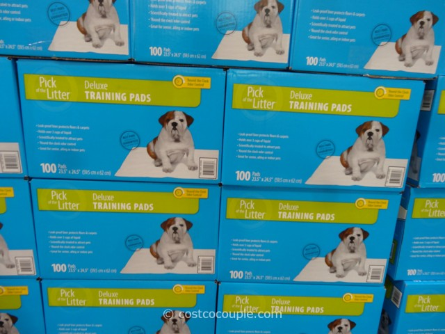 Pick of the Litter Deluxe Puppy Pads Costco 2