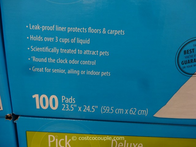 Pick of the Litter Deluxe Puppy Pads Costco 3