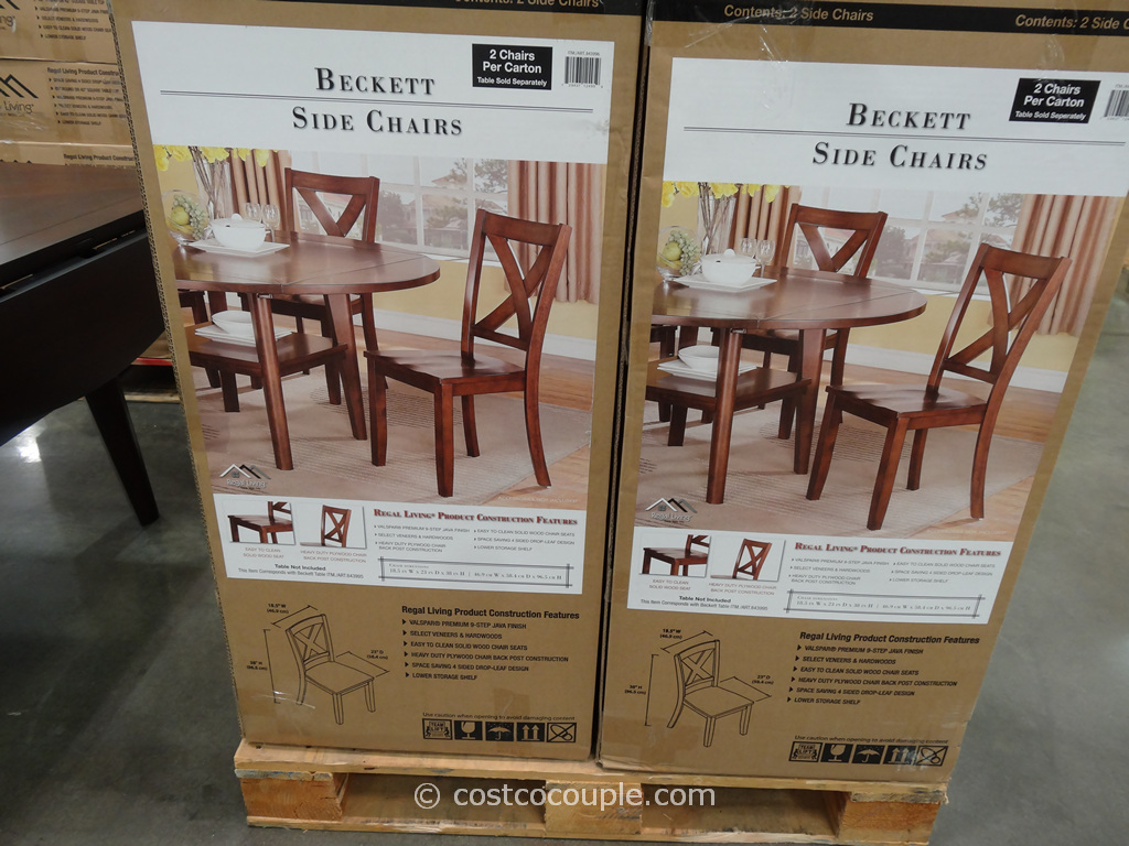 Regal Living Beckett Dining Chairs Costco 2