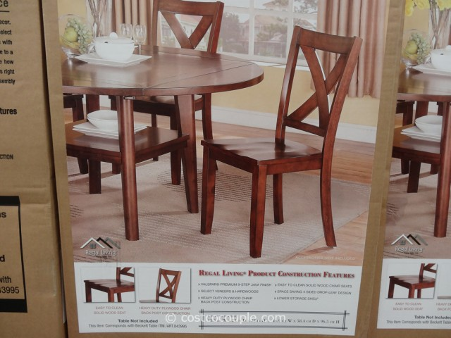 Regal Living Beckett Dining Chairs Costco 4
