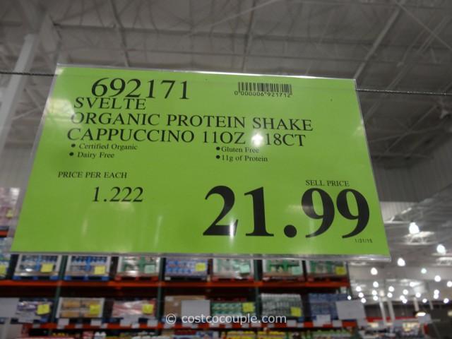 Svelte Organic Protein Shake Costco 1