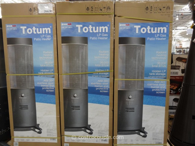 Totum Outdoor Patio Propane Heater Costco 3